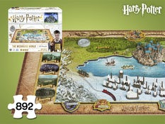Julegave til ham - Harry Potter The Wizarding World 4D-Puslespil,