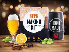 Father's Day gift - Brewbarrel Brew Your Own Christmas Beer,