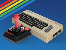 Father's Day gift - C64 Mini Game Console,